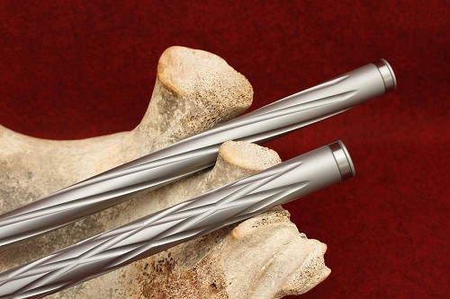 "KIDD .22LR 18"" Limited Edition Specialty Fluted Stainless Steel Rifle Bull Barrel"