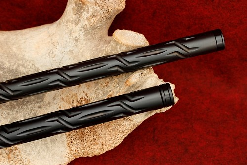 "KIDD .22LR 18"" Black 556 Fluted Rifle Bull Barrel"