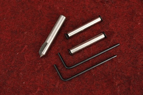KIDD Threaded Receiver Pins With Countersink Tool